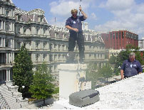 We clean chimneys in Wyoming, and the White House