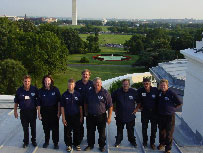 Larry and the 2001 Chimney Cleaning Team